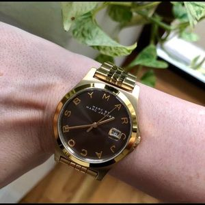 Jewelry - Marc Jacobs Gold Watch